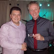 North West Magician Darren Brand performing for Paul Heyes from Cash In The Attic