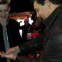 North West Magician Darren Brand performing for  Reece  Bibby from Stereo Kicks